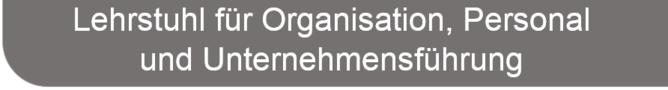 für Organisation, Personal und Unternehmensführung